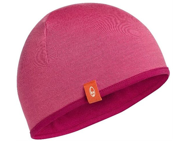 Icebreaker Kids Pocket Hat Raspberry/Shocking